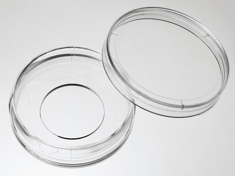 D35-20-1-N  35mm玻璃底细胞培养皿