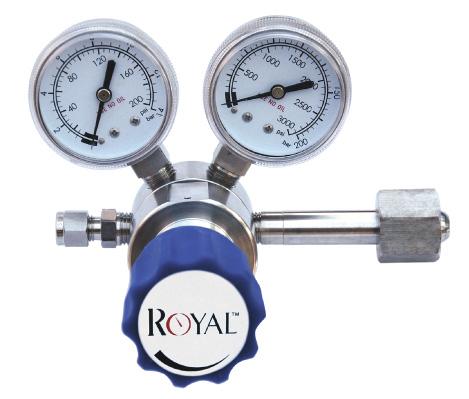 高纯气体减压器、腐蚀性气体减压器(CGA580、CGA350、CGA330等接口)