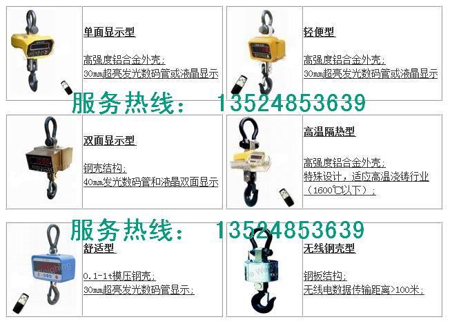 OCS-Ec天辰无线电子吊称电子吊钩秤/吊钩称价格/无线摇控电子吊钩秤