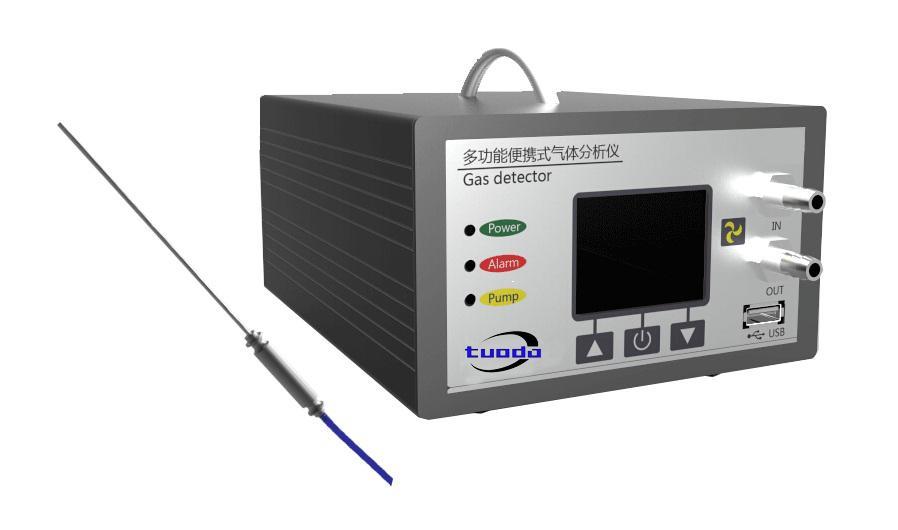 手提式二氧化碳检测仪、手提式二氧化碳分析仪TD800-CO2