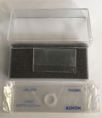 英国原装进口Auvon细菌计数板Auvon Helber Bacteria Single Round Cell Thoma Counting Chamber