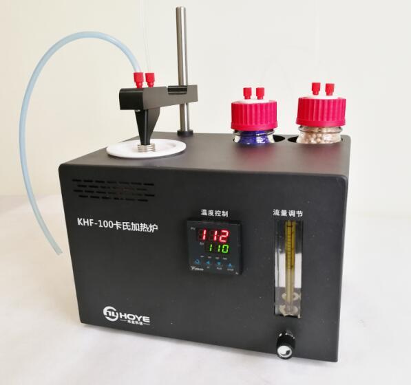 锂电池材料专用加热法卡氏水分测定仪