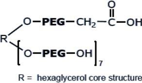 (HO)7-8ARM(TP)PEG-COOH 聚乙二醇衍生物/修饰剂
