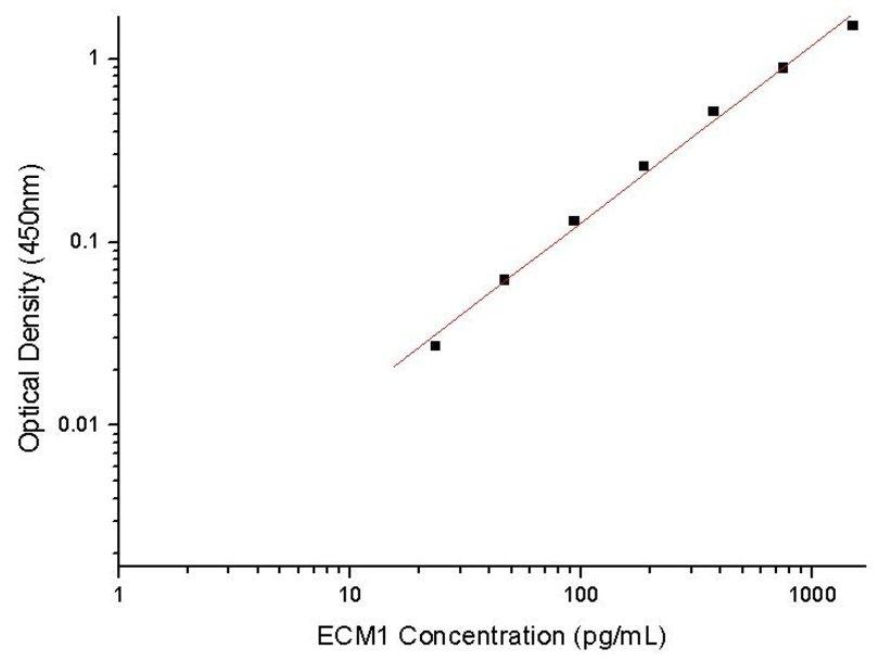 Antibodies-Online/Human ECM1 ELISA Pair Set/ABIN2010339/5 plates