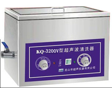 供应KQ3200V舒美单槽式超声波清洗机