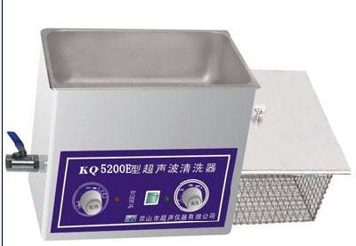 供应KQ5200E舒美单槽式超声波清洗机