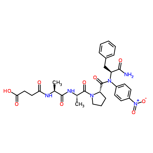GoldBio/N-Succinyl-L-alanyl-L-alanyl-L-prolyl-L-phenylalanine 4-nitroanilide/S-950-250/250 mg