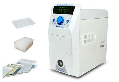 0.2ml透明96孔PCR板,10块/包,5包/箱