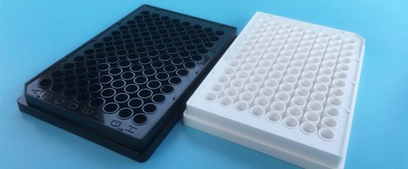 384孔底透微孔板,细胞培养,白色