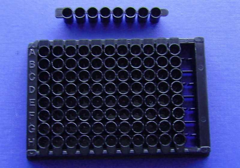 96孔微孔板,细胞培养,黑色,