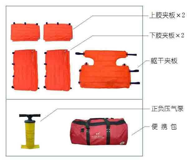 真空夹板|负压骨折固定气垫|真空夹板THG-010