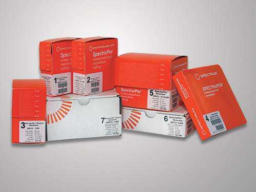 Spectra/Por 1-5 标准级再生纤维素透析膜管