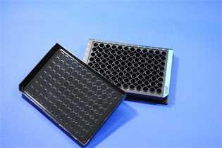 WHB 96孔发光板/96孔全黑细胞培养板
