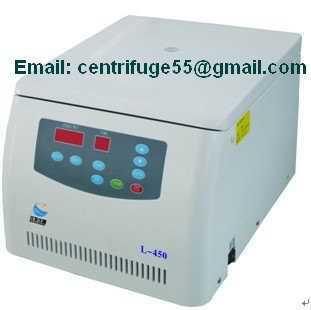 通用空冷型低速台式离心机 L-450
