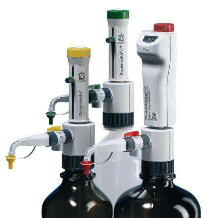 普兰德BRAND瓶口分液器 4730351 Dispensette® Organic有机型,数字可调,2.5-25 ml