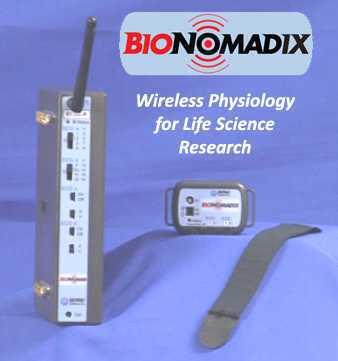 BioNomadix无线遥测生理记录仪