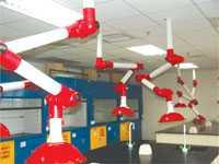 内蒙古包头实验室万向通风罩