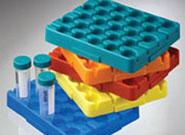 labcon 50ml离心管架 低温至-80°C 高温至122°C 多色可选