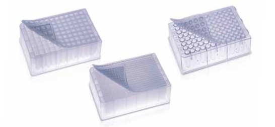 96 Deep Square Well Plate, round bottom, working volume 2000 μL, packed in sleeves of 6