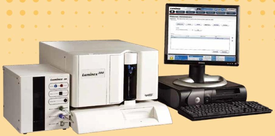 luminex路明克斯流式荧光分析系统