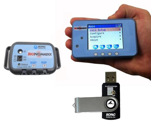 遥测式生理数据采集分析系统