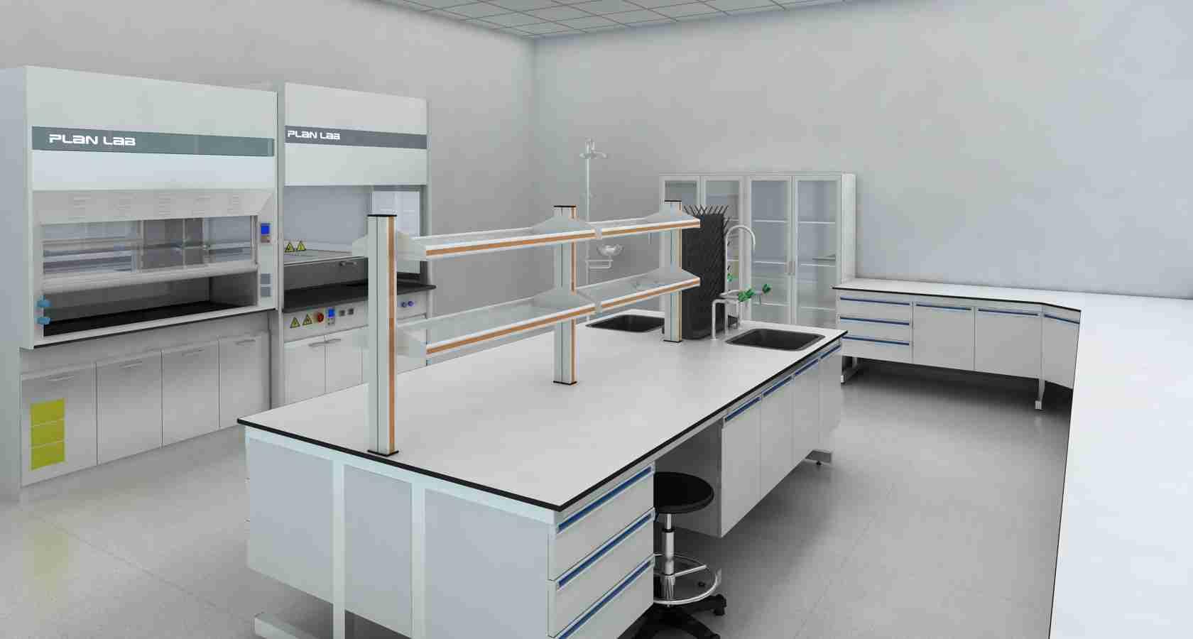 钢木实验桌