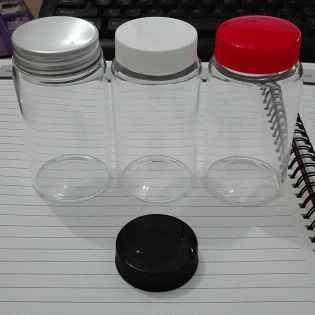 杭州斯晨100ml高硼硅螺纹样品瓶 透明螺口含垫片试剂瓶 展示瓶