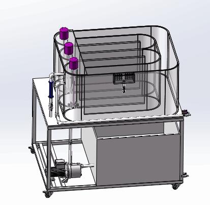 卡鲁赛尔氧化沟实验装置