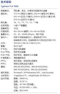 Typhoon FLA 7000/7000IP多功能生物分子成像仪