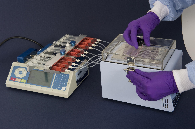 三维灌注式细胞培养系统