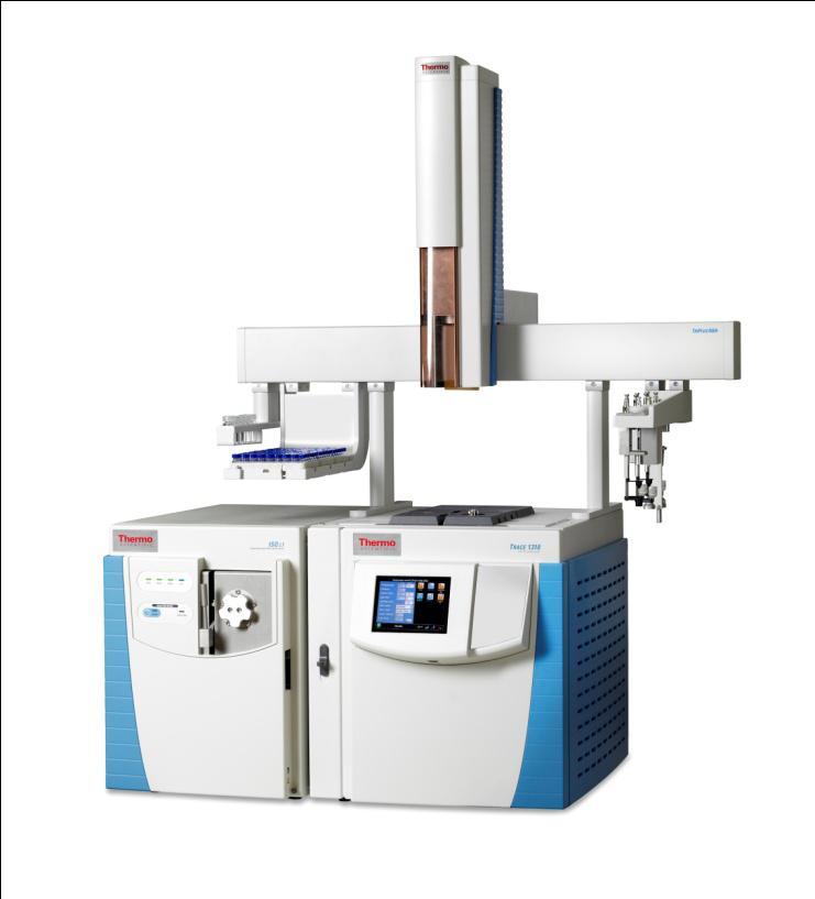 ISQ系列单四极杆气相色谱质谱联用仪