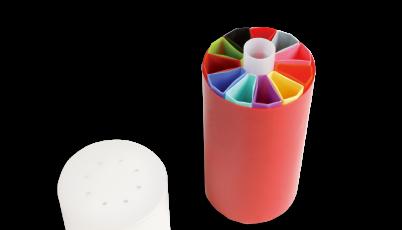 CBS™拇指管和菊形塑料杯