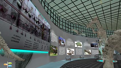 3D虚拟远古生物馆