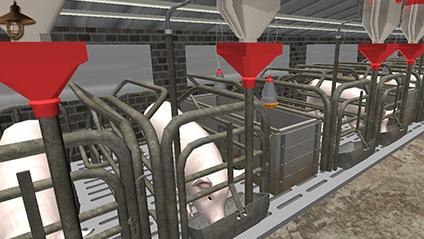 虚拟猪养殖仿真教学平台
