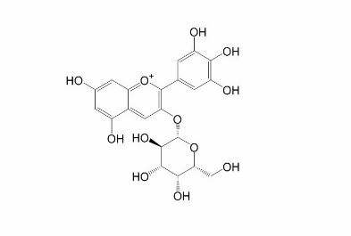 飞燕草素-3-O-半乳糖苷