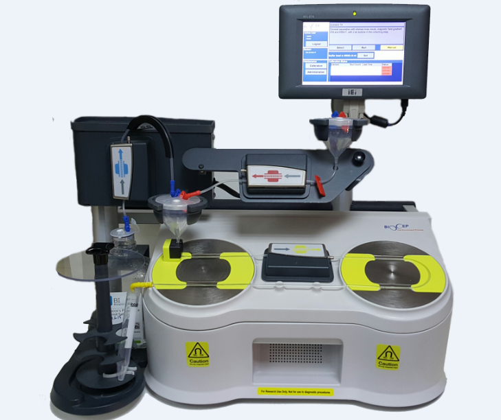 BioCep连续流动细胞分离系统