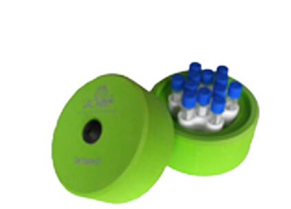 CellHome-12(可以容纳12根1毫升或2毫升的冻存管)程序降温盒