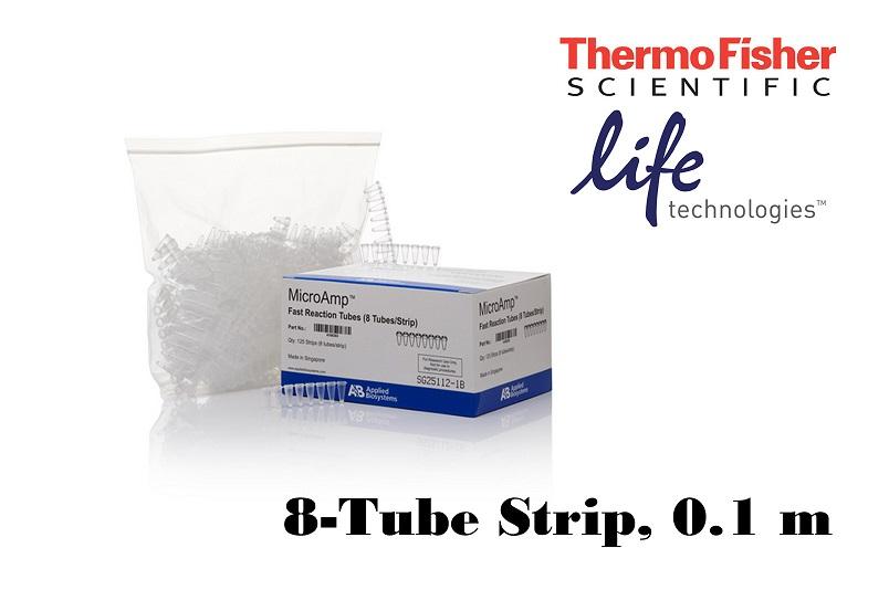 MicroAmp® Fast 8-Tube Strip, 0.1 ml, 4358293