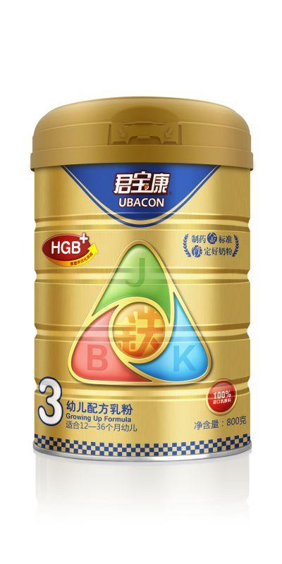 君宝康铁强化幼儿配方奶粉