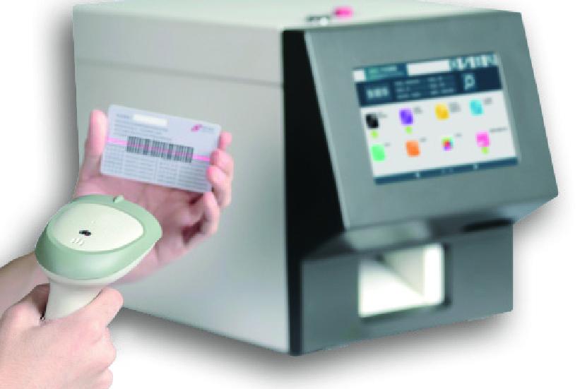 采血管标签打印机